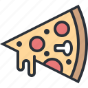 eating, fast food, food, junk food, pizza icon