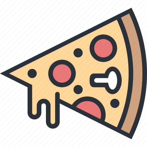 eating, fast food, food, junk food, pizza icon