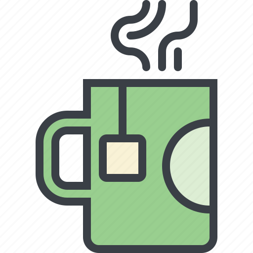 cup, drink, food, hot, tea icon