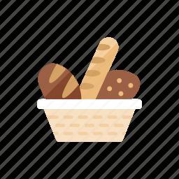 2, bread icon