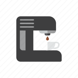 coffee, machine icon