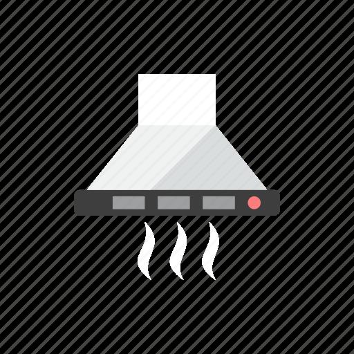 cooker, hood icon