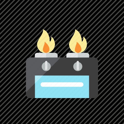 gas, stove icon