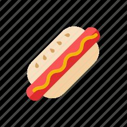 dog, hot icon