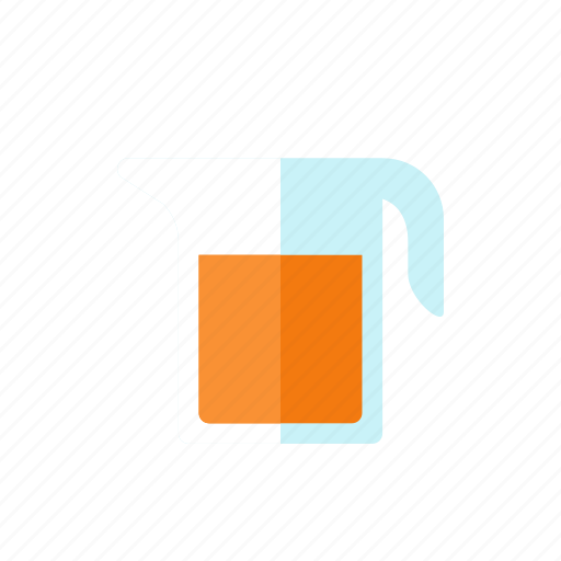 bucket, juice icon