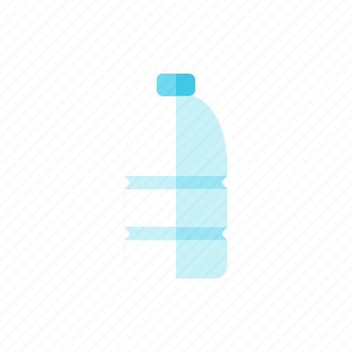 bottle, water icon