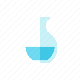 jar, water icon