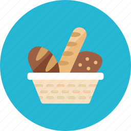 2, bread icon