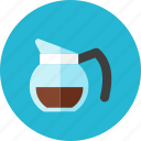 coffee, pot icon