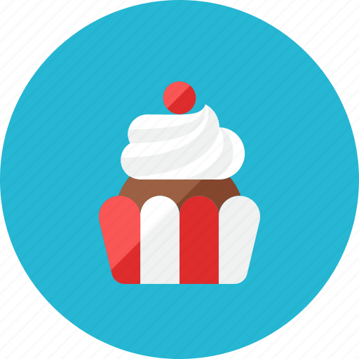 Cupcake icon - Download on Iconfinder on Iconfinder