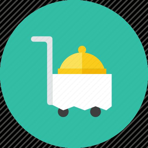 food, trolley icon