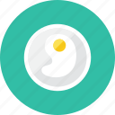 egg, fried icon