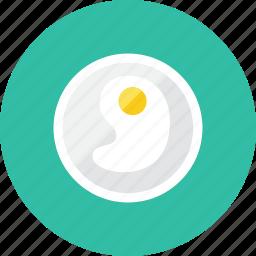 egg, fried icon