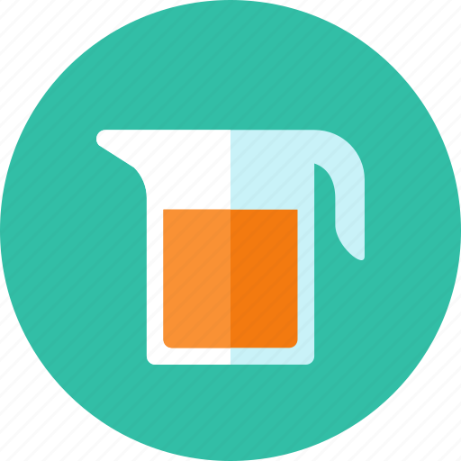 bucket, juice icon