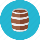 barrel, wooden icon