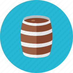 barrel, wooden icon