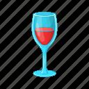 alcohol, beverage, cartoon, glass, liquid, red, wine