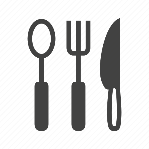 crockery, dinner, food, spoon, stainless steel, teaspoon, utensil icon