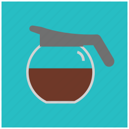 caffeine, coffee, drink, hot, jug, pot icon