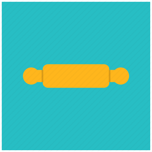 cook, dough, kitchen, roller, utility icon