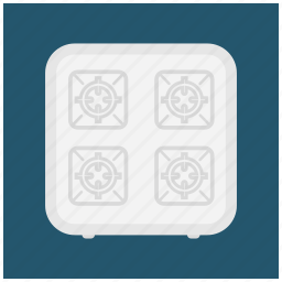 cook, cooking, gas, kitchen, stove, utility icon