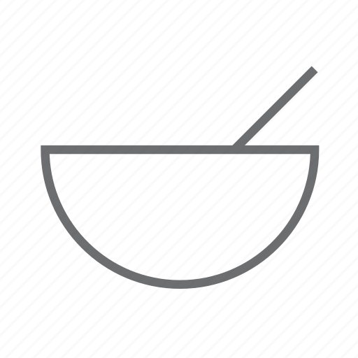 bowl, cook, eat, food, salad, soup, spoon icon