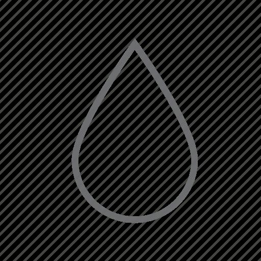 drink, drop, food, liquid, rain, water, weather icon