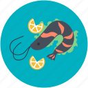 food, healthy eating, prawn, seafood, shrimp icon
