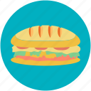burger, fast food, food, hamburger, junk food icon