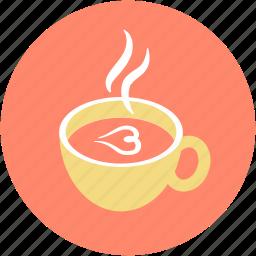cappuccino, coffee, cup, espresso, hot drink icon