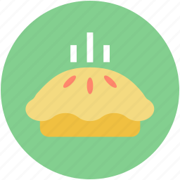 bake food, dessert, meat pie, pie, sweet pie icon