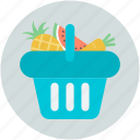food, fruits, fruits basket, healthy diet, healthy food icon