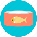 canned fish, food, preserved food, seafood, tinned fish icon
