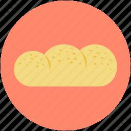 baguette, bakery item, bread, breakfast, french bread icon