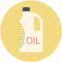 cooking oil, ingredient, liquid, oil bottle, oil container icon