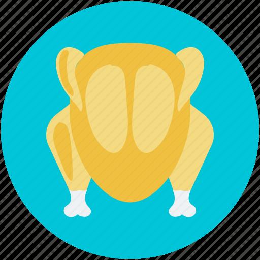 Chicken, grilled food, roast, roast chicken, turkey roast icon - Download on Iconfinder