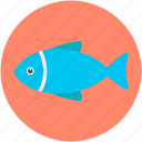 fish, food, healthy food, raw fish, seafood icon