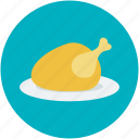 chicken, grilled food, roast, roast chicken, turkey roast icon