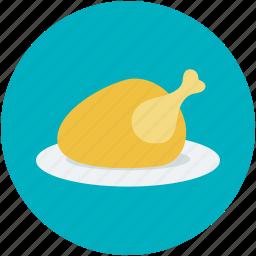 chicken, grilled food, roast, roast chicken, turkey roast icon