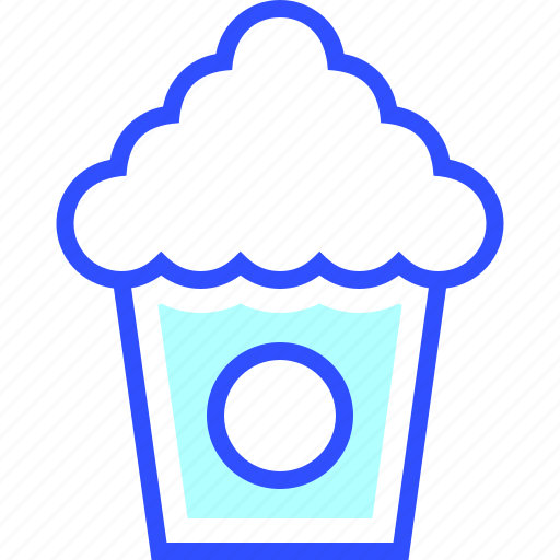 beverage, drink, eatery, food, meal, popcorn icon