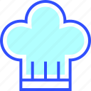 beverage, chef, drink, eatery, food, hat, meal icon