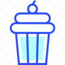 beverage, cupcake, drink, eatery, food, meal icon