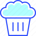beverage, drink, eatery, food, meal, muffin icon