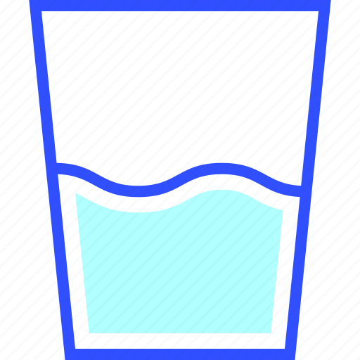 beverage, drink, eatery, food, meal, water icon