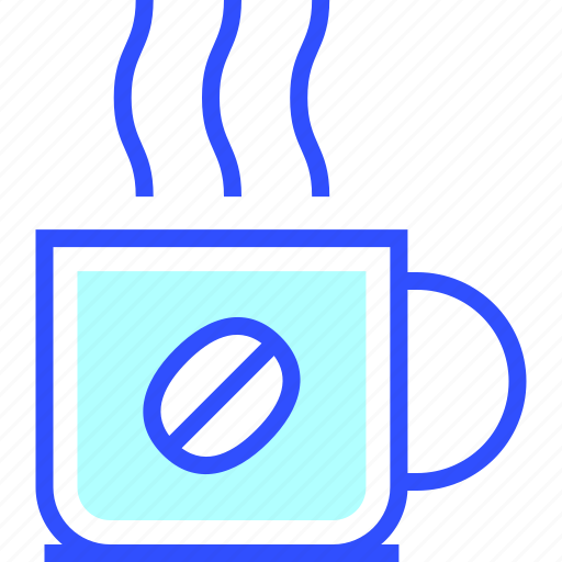 beverage, coffee, cup, drink, eatery, food, meal icon