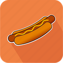 eating, fastfood, food, hotdog, junk, restaurant icon