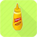 eating, hotdog, mustard, restaurant, sausage icon