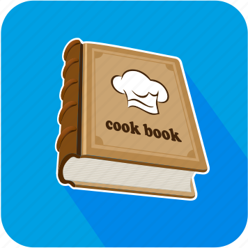 book, cook, food, restaurant icon