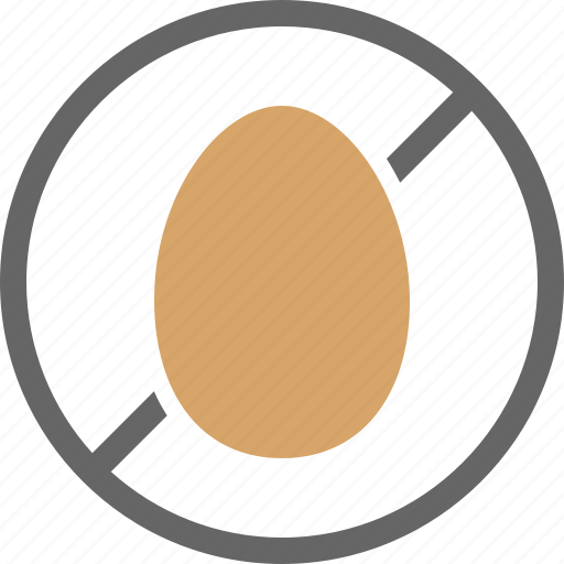 allergy, dietary, egg, free, label, non icon