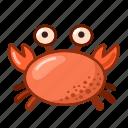 crab, delicacy, food, sea icon